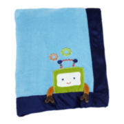 NoJo® Baby Bots Fleece Blanket