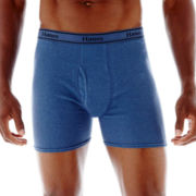 Hanes® 4-pk. Cotton Boxer Briefs