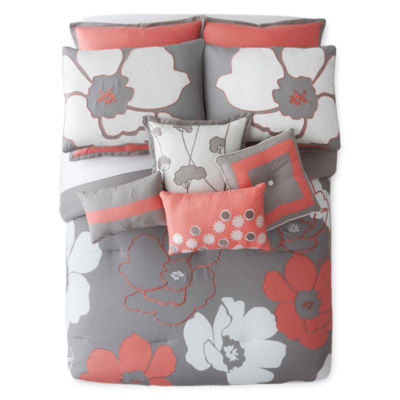 Home Expressions™ Blooms 10-pc. Comforter Set