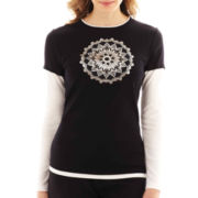 Made For Life™ Long-Sleeve Layered T-Shirt