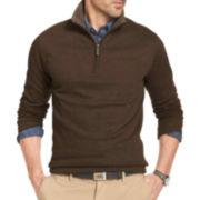 Van Heusen® Long-Sleeve Quarter-Zip Sweater