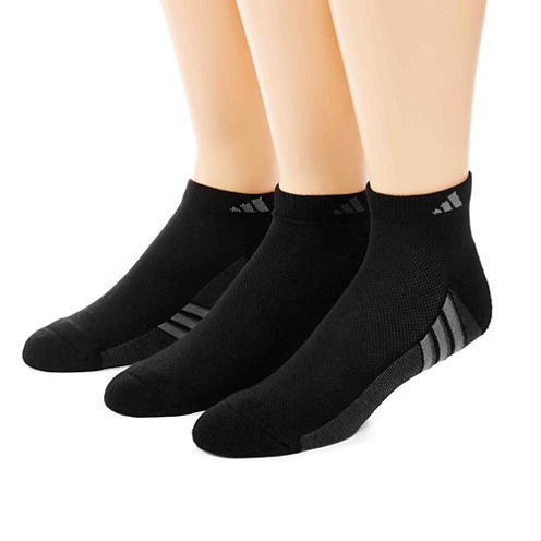 adidas® 3-pk. climacool® Superlite Low-Cut Socks - Big & Tall