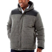 Quilted Faux-Wool Jacket–Big & Tall