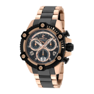 jcpenney.com | Invicta® Mens Black Dial Chronography Bracelet Watch 13718