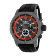 Invicta® TI-22 Mens Black and Titanium Watch 20452