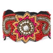 Decree® Multicolor Seed Bead Bracelet