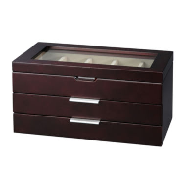 jcpenney.com | Java Glass Top Watch Box