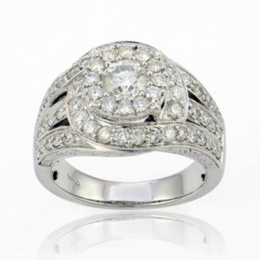 jcpenney.com | LIMITED QUANTITIES 2 CT. T.W. Diamond 14K White Gold Ring