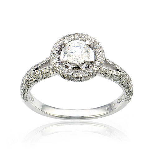 LIMITED QUANTITIES 1 1/2 CT. T.W. Diamond 14K White Gold Ring