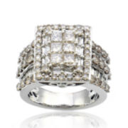 4 CT. T.W. Diamond 10K White Gold Ring