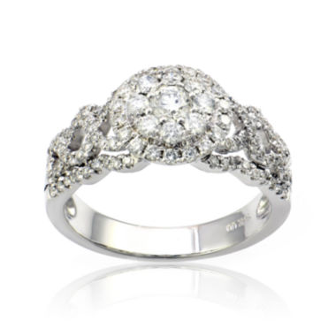 jcpenney.com | LIMITED QUANTITIES 1 CT. T.W. Diamond 14K White Gold Ring