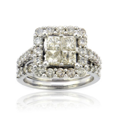jcpenney.com | LIMITED QUANTITIES 3 CT. T.W. Diamond 10K White Gold Ring