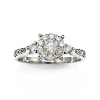jcpenney.com | LIMITED QUANTITIES 3/4 CT. T.W. Diamond14K White Gold Ring