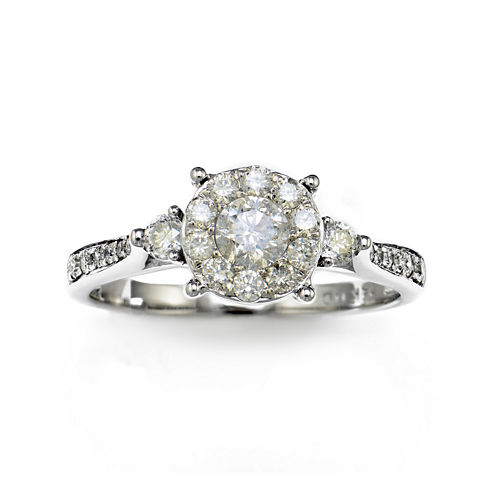 LIMITED QUANTITIES 3/4 CT. T.W. Diamond14K White Gold Ring