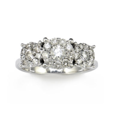 jcpenney.com | LIMITED QUANTITIES 1 CT. T.W. 14K White Gold Diamond Ring