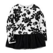 Carter's® Long-Sleeve Floral Tunic - Preschool Girls 4-6x