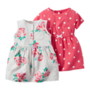 Carter's® 2-pc. Dress and Romper Set - Baby Girls newborn-24m