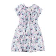 Carter's® Short-Sleeve Neon Print Floral Dress - Toddler Girls 2t-5t