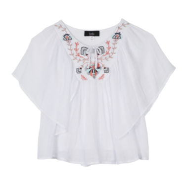 jcpenney.com | by&by Girl Embroidered Poncho Top - Girls 7-16