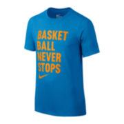 Nike® Basketball Graphic Tee - Boys 8-20