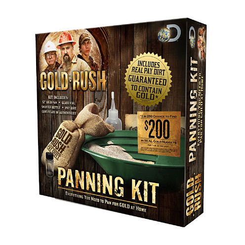 1 Lb. Gold Rush Panning Science Kit