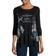 i jeans by Buffalo 3/4-Sleeve Printed Top