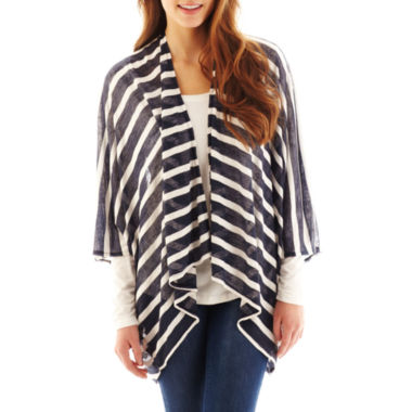 jcpenney.com | Mixit™ Textured Striped Wrap