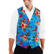 JF J. Ferrar® Blue Hawaiian Vest