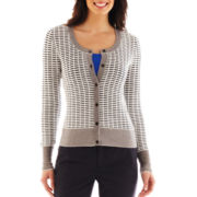 Worthington® Textured Cardigan Sweater