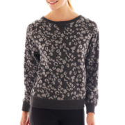 Xersion™ Animal Print Sweatshirt
