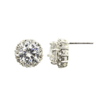 jcpenney.com | Sparkle Allure™ Round Cubic Zirconia Stud Earrings
