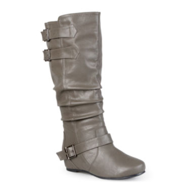jcpenney.com | Journee Collection Tiffany Womens Slouch Riding Boots