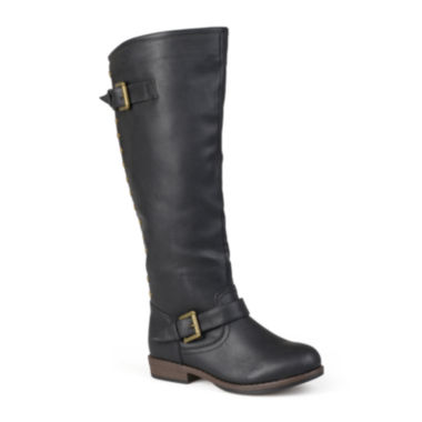 jcpenney.com | Journee Collection Spokane Studded Riding Boots