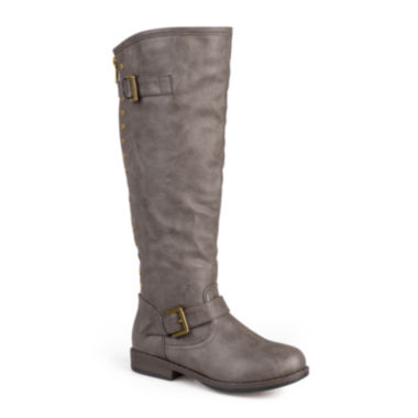 jcpenney.com | Journee Collection Spokane Riding Boots - Extra Wide Calf