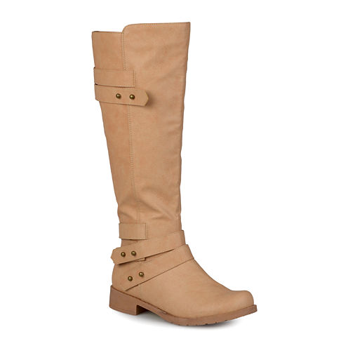 Journee Collection Lark Ankle-Strap Womens Riding Boots