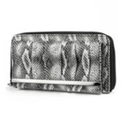 Mundi® Chase Pleated Snake Print Wallet