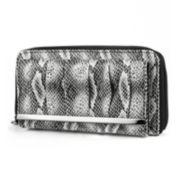 Mundi® Chase Pleated Snake Print Wallet