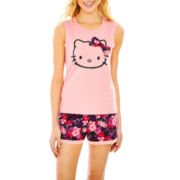 Hello Kitty® Tank Top and Shorts Pajama Set