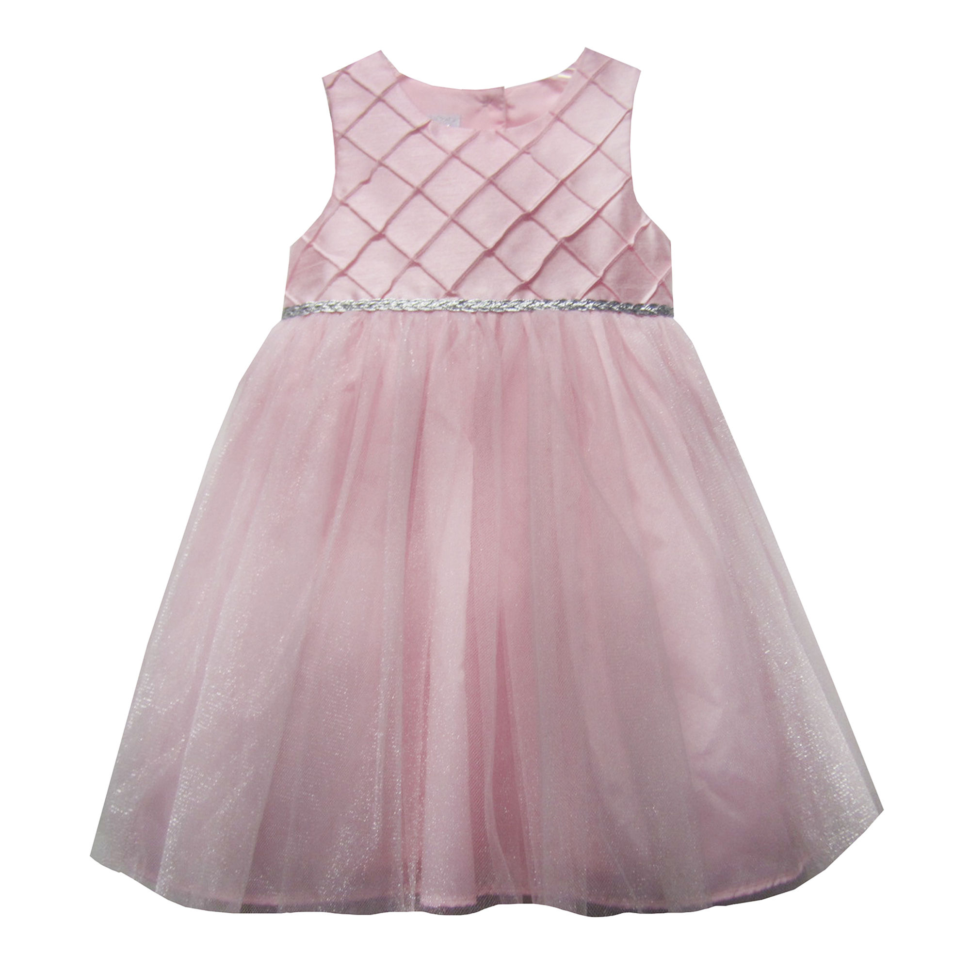UPC Marmellata Sleeveless Diamond Pintuck Ballerina
