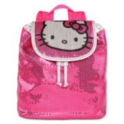 Hello Kitty® Sequin Backpack - Girls
