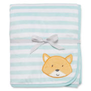 Carter's® Striped Fox Sherpa Blanket