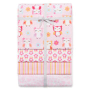 Carter's® 4-pk. Owl Receiving Blankets