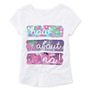 Arizona Short-Sleeve Graphic Tee – Girls 7-16 and Plus