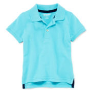 Arizona Short-Sleeve Solid Polo – Boys 3m-24m