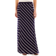 by&by Striped Maxi Skirt