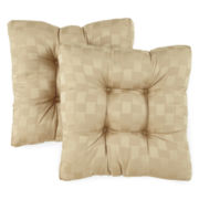 Reflections Set of 2 Reversible Chair Cushions