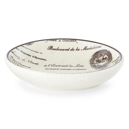 Edwardian Script Soap Dish
