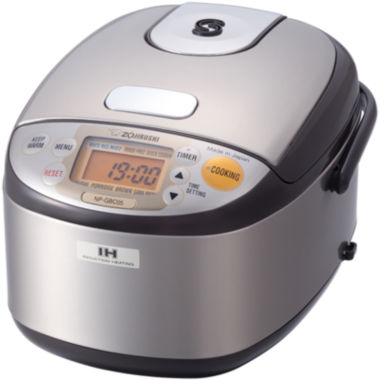 jcpenney.com | Zojirushi™ 3-Cup Induction Heating System Rice Cooker and Warmer
