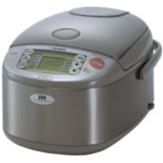 Zojirushi™ 5½-Cup Induction Heating System Rice Cooker and Warmer