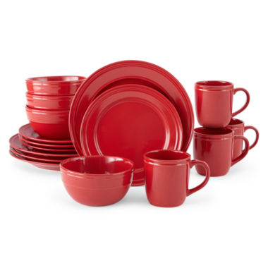 jcpenney.com | JCPenney Home™ Stoneware 16-pc. Dinnerware Set